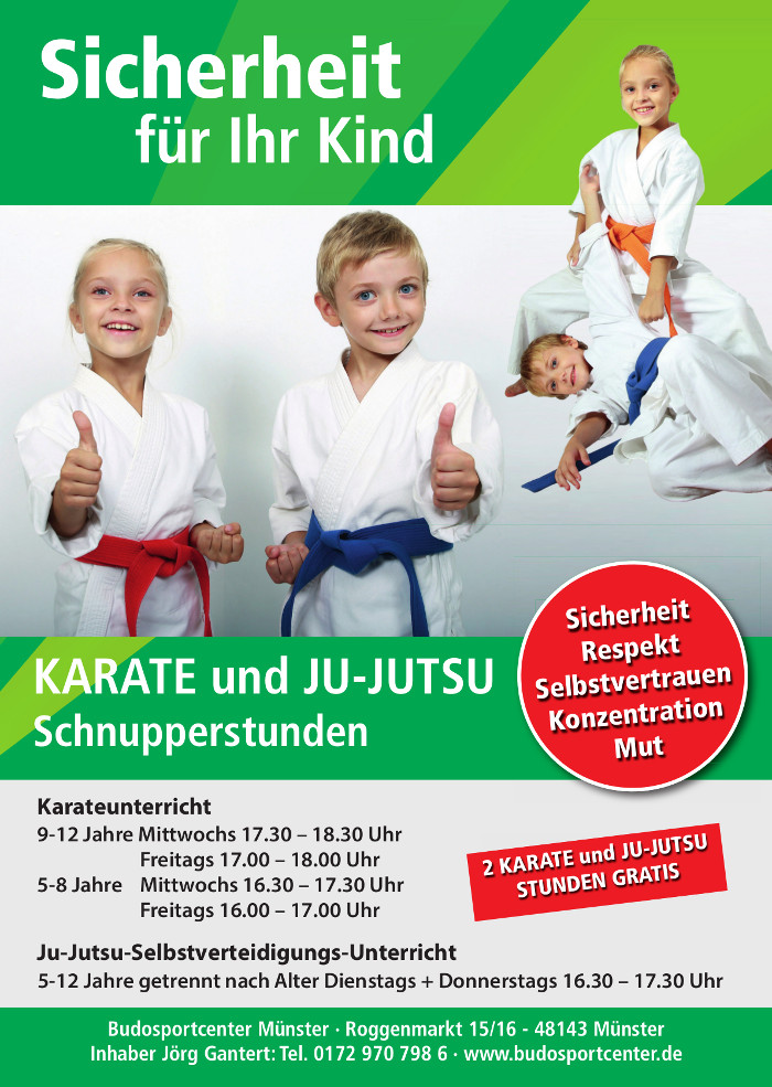 fleyer neu kinderkarate